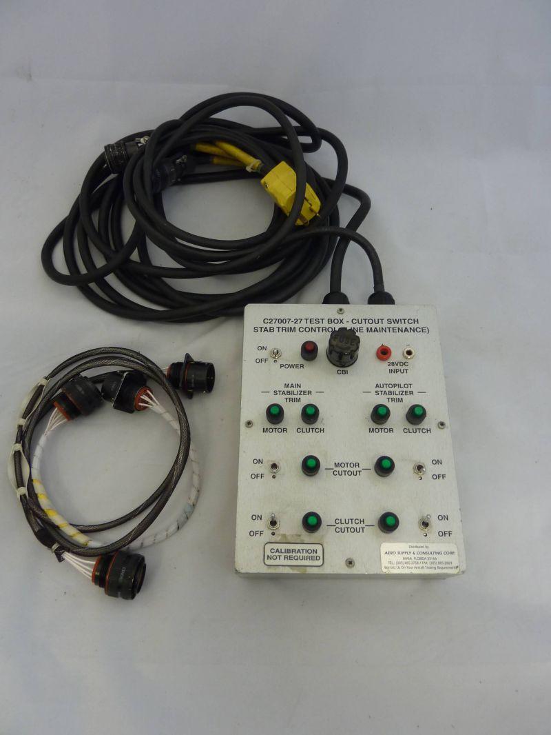 Test Kit Stab Trim - C27007-26 | Aircraft Tool Hire Ltd